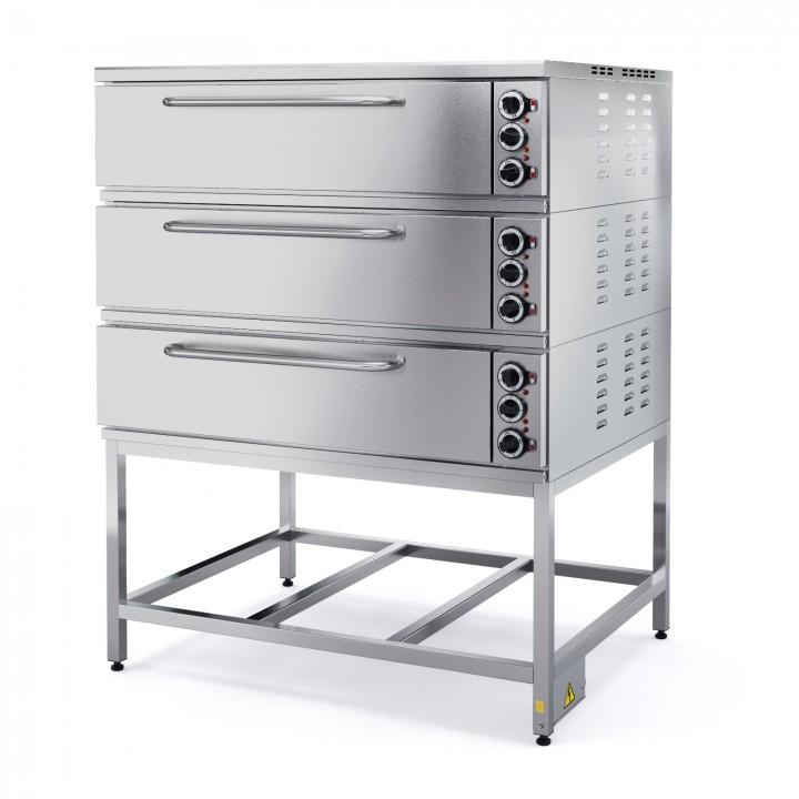 Шкаф пекарный электрический трехсекционный